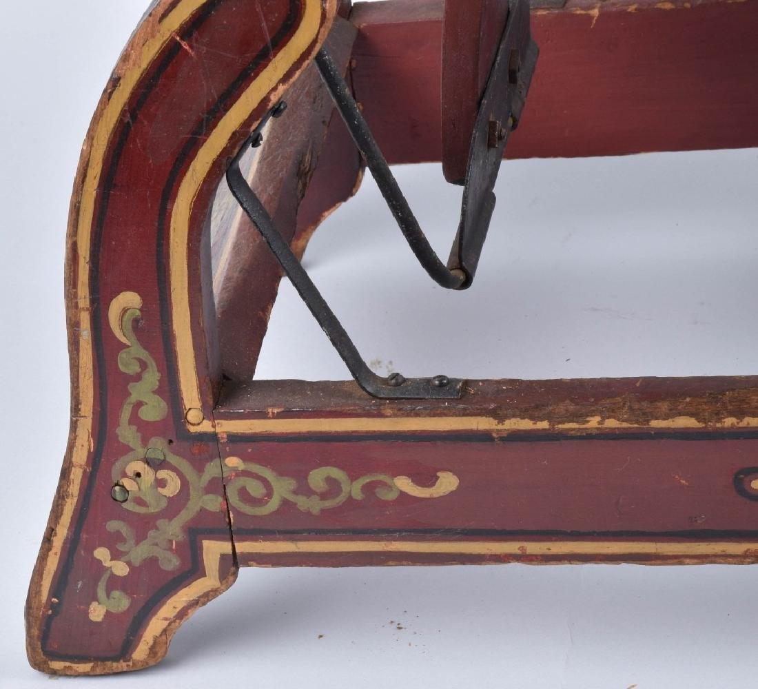 CONVERSE WOOD CARVED RIDE ON HORSE ON ROCKER - 10