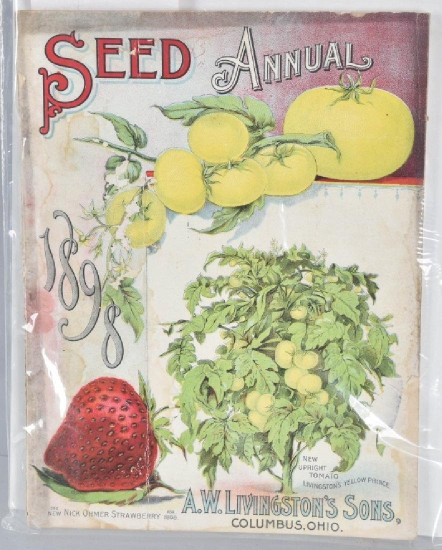 LOT of COLOR SEED ADVERTISING, PACKETS and MORE - 5