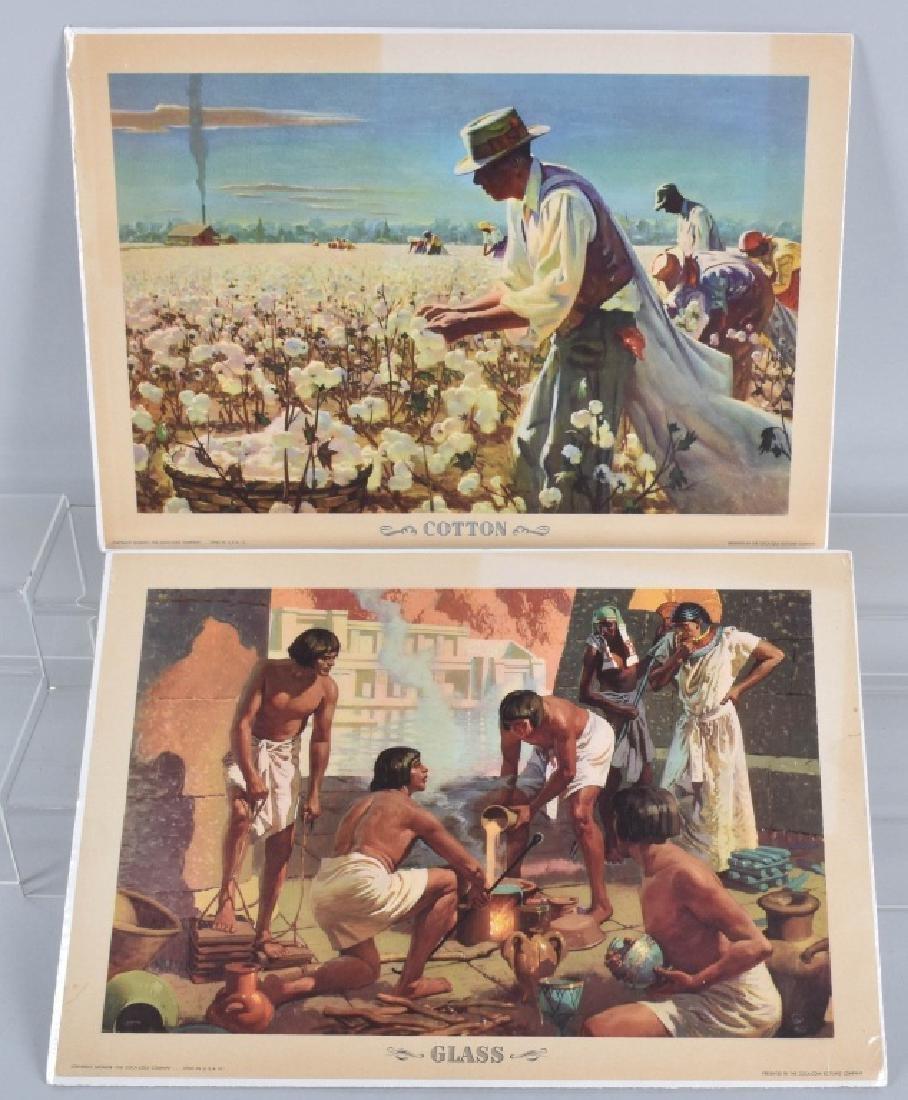 6-1950'S COCA COLA WYETH OUR AMERICA PRINTS - 2