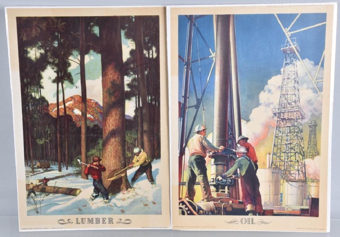6-1950'S COCA COLA WYETH OUR AMERICA PRINTS - 4