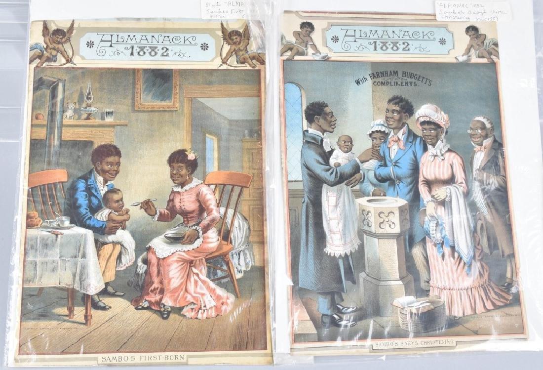 BLACK AMERICANA LOT, VINTAGE - 3