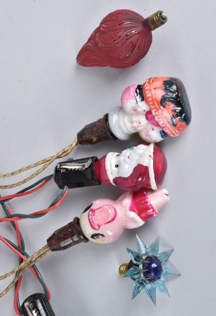 VINTAGE CHRISTMAS LIGHTS, FIGURALS and MORE - 3