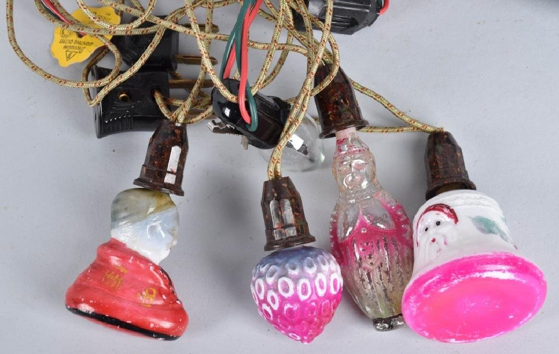 VINTAGE CHRISTMAS LIGHTS, FIGURALS and MORE - 4
