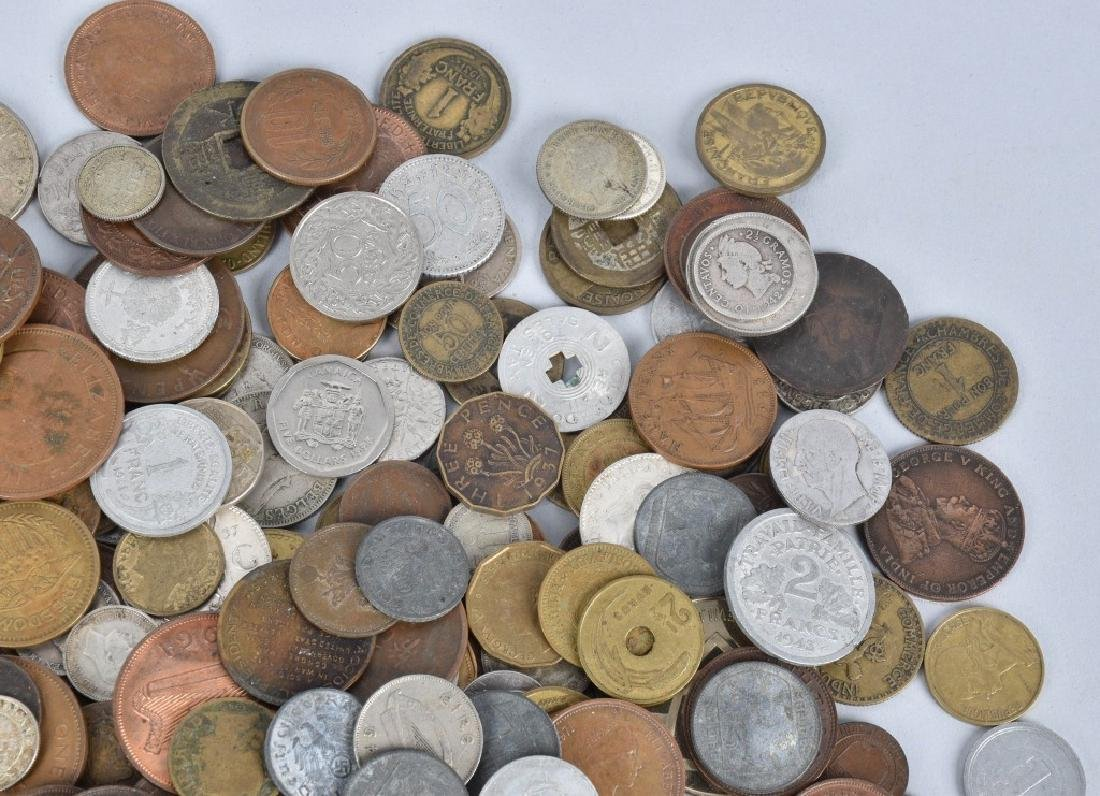 HUGE LOT of VINTAGE INTERNATIONAL COINS and MORE - 4