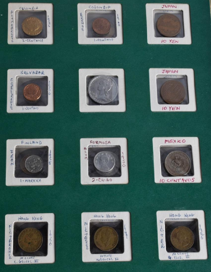 HUGE LOT of VINTAGE INTERNATIONAL COINS and MORE - 8