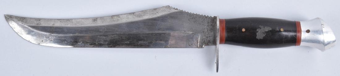 LARGE BUFFALO HUNTER KNIFE with SHEATH - 4