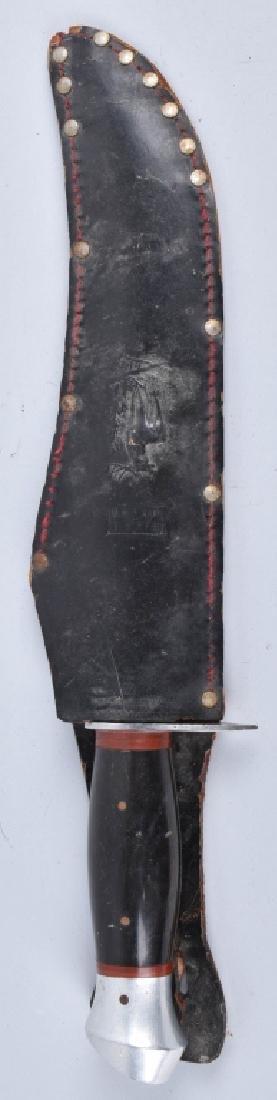 LARGE BUFFALO HUNTER KNIFE with SHEATH - 5