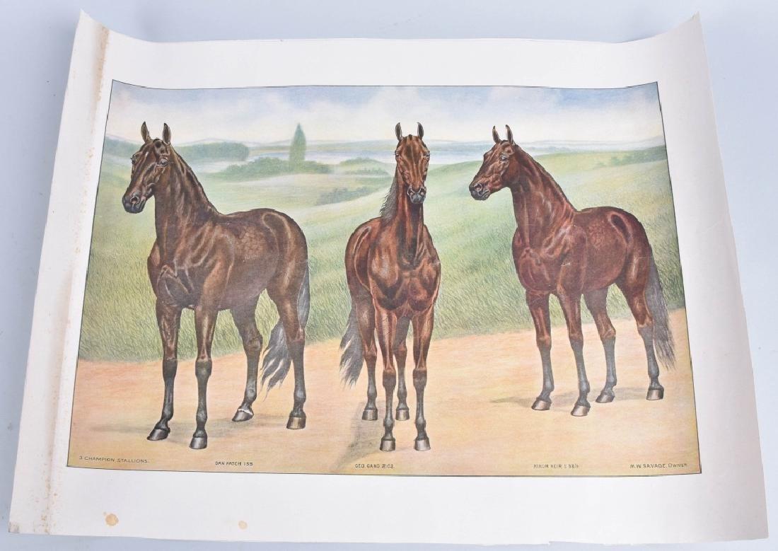 1940'S FAMOUS RACE HORSE PRINT, DAN PATCH & MORE