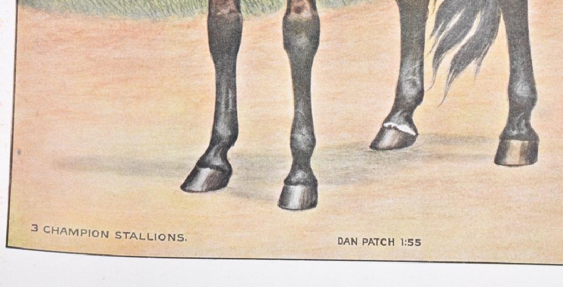 1940'S FAMOUS RACE HORSE PRINT, DAN PATCH & MORE - 3