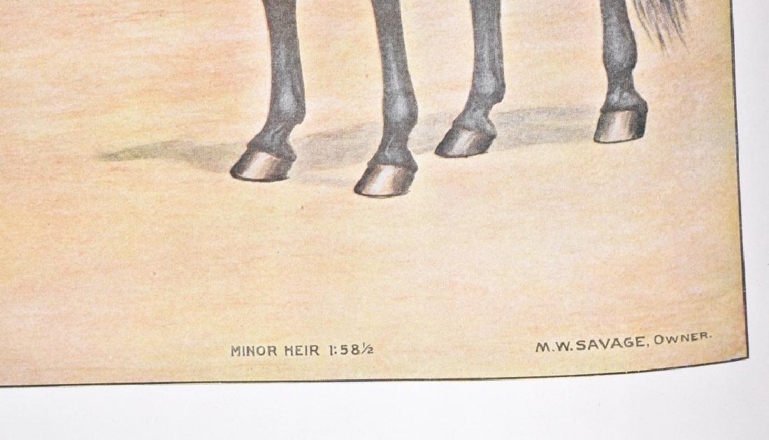 1940'S FAMOUS RACE HORSE PRINT, DAN PATCH & MORE - 4