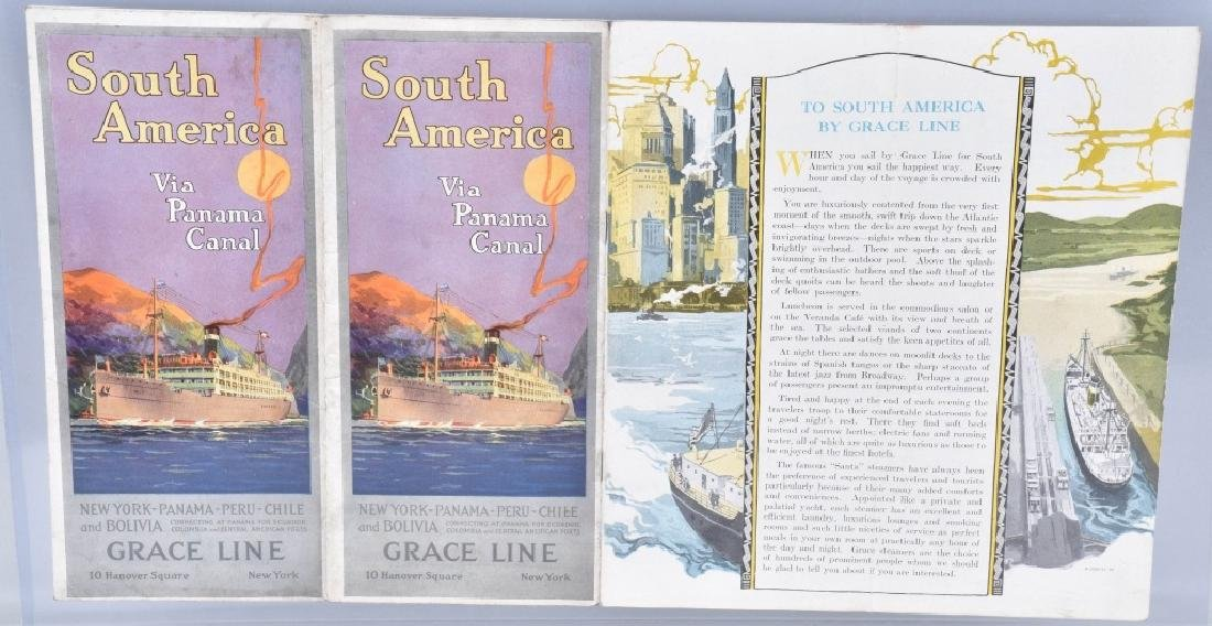 VINTAGE SHIP BROCHURES WHITE STAR LINE & MORE - 6