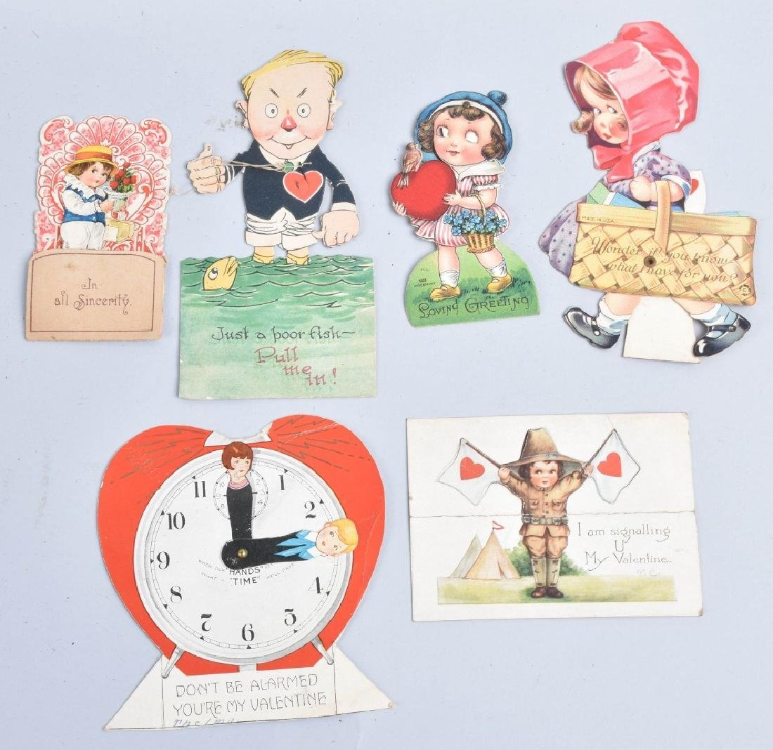 Large lot of VICTORIAN VALENTINES - 3
