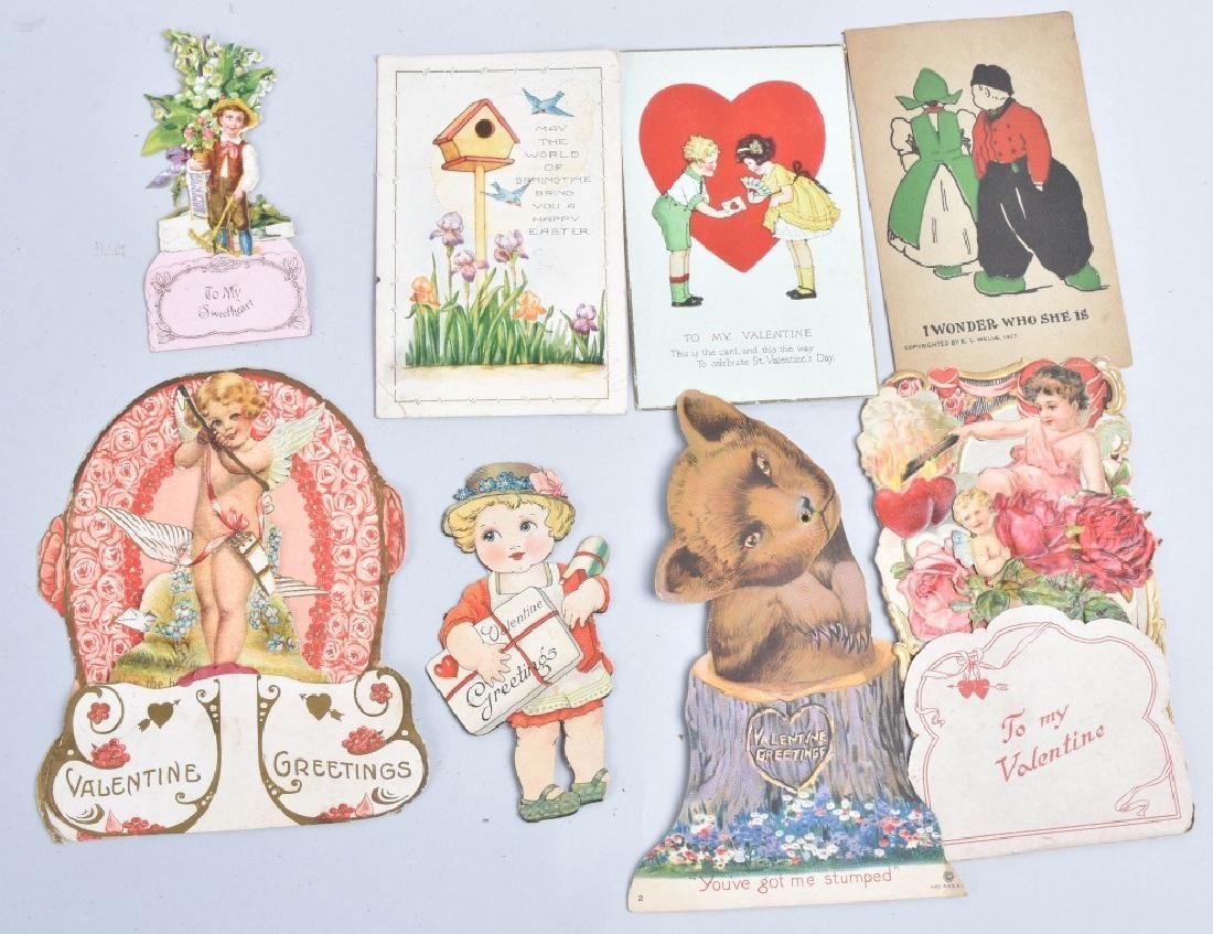 Large lot of VICTORIAN VALENTINES - 4