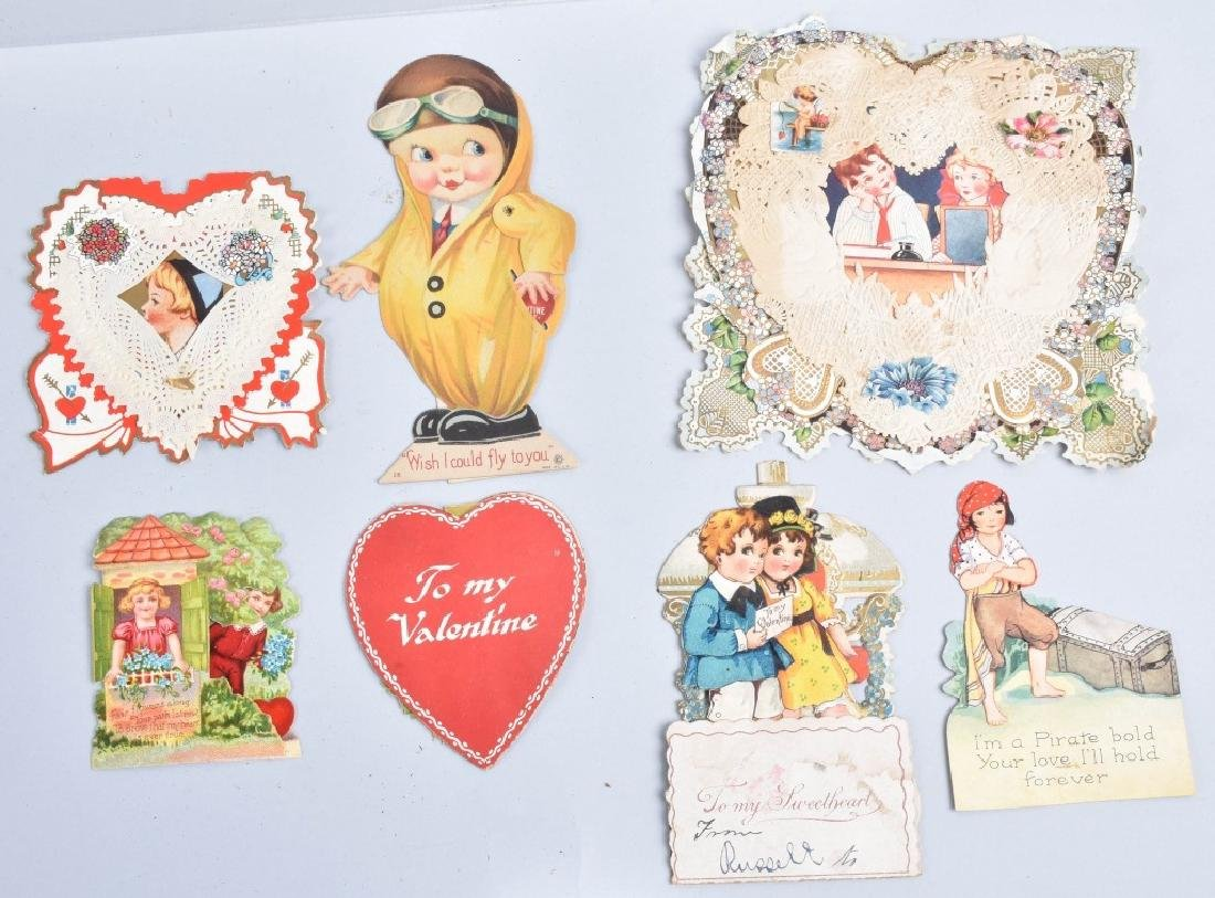 Large lot of VICTORIAN VALENTINES - 5