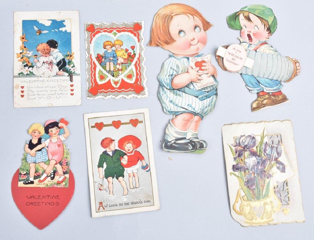 Large lot of VICTORIAN VALENTINES - 6