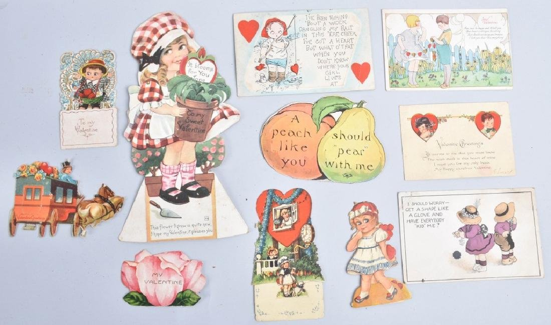 Large lot of VICTORIAN VALENTINES - 7
