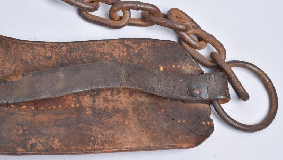 1857 FRANKLIN SUMMERS & COMBS SLAVE COLLAR - 4