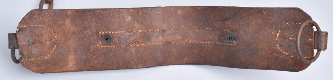 1857 FRANKLIN SUMMERS & COMBS SLAVE COLLAR - 5