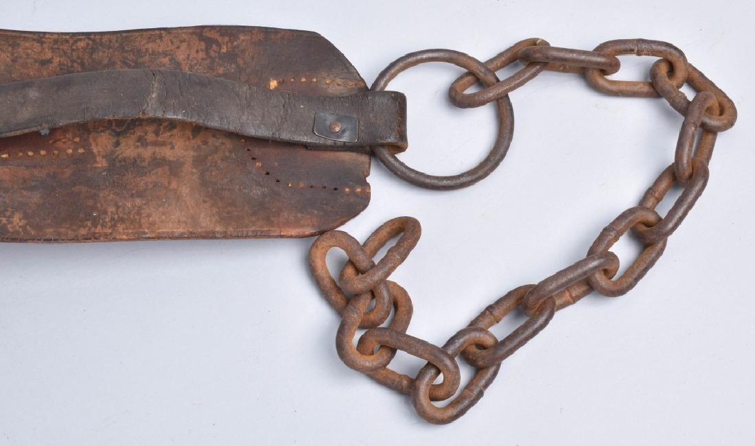 1857 FRANKLIN SUMMERS & COMBS SLAVE COLLAR - 6