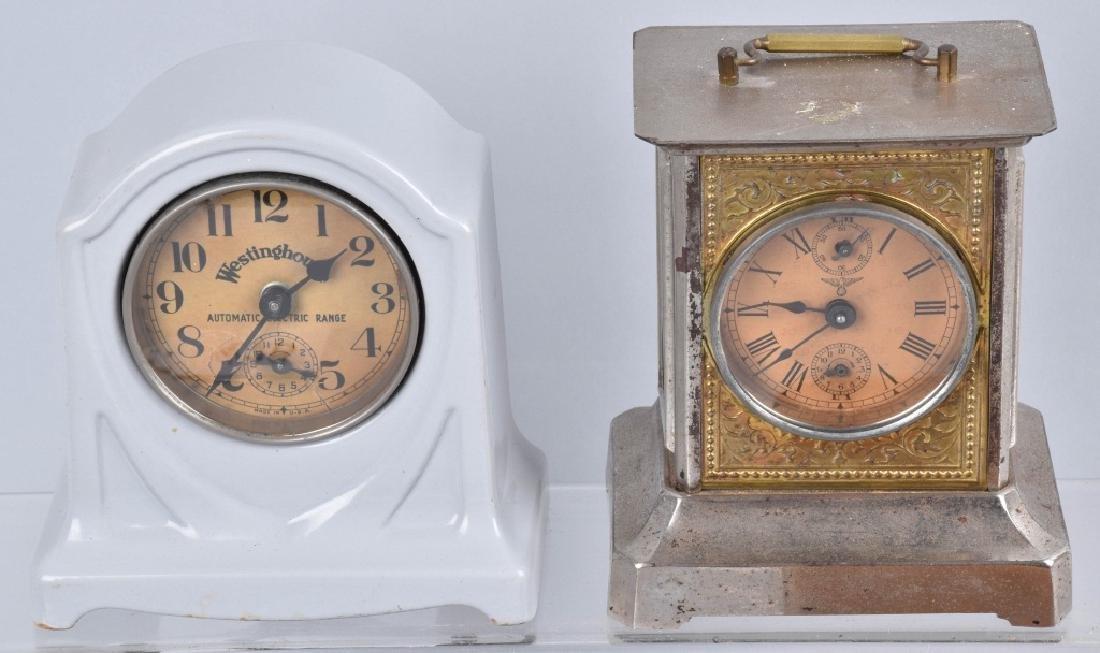 LOT of CLOCKS, TRAVEL RADIO CLOCK, & 16MM CAMERA - 2