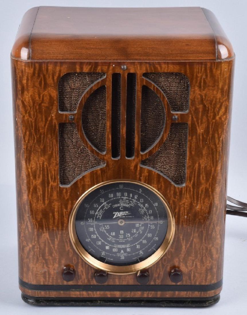 ZENITH 1939 MODEL 6-S-330 TOMBSTONE RADIO