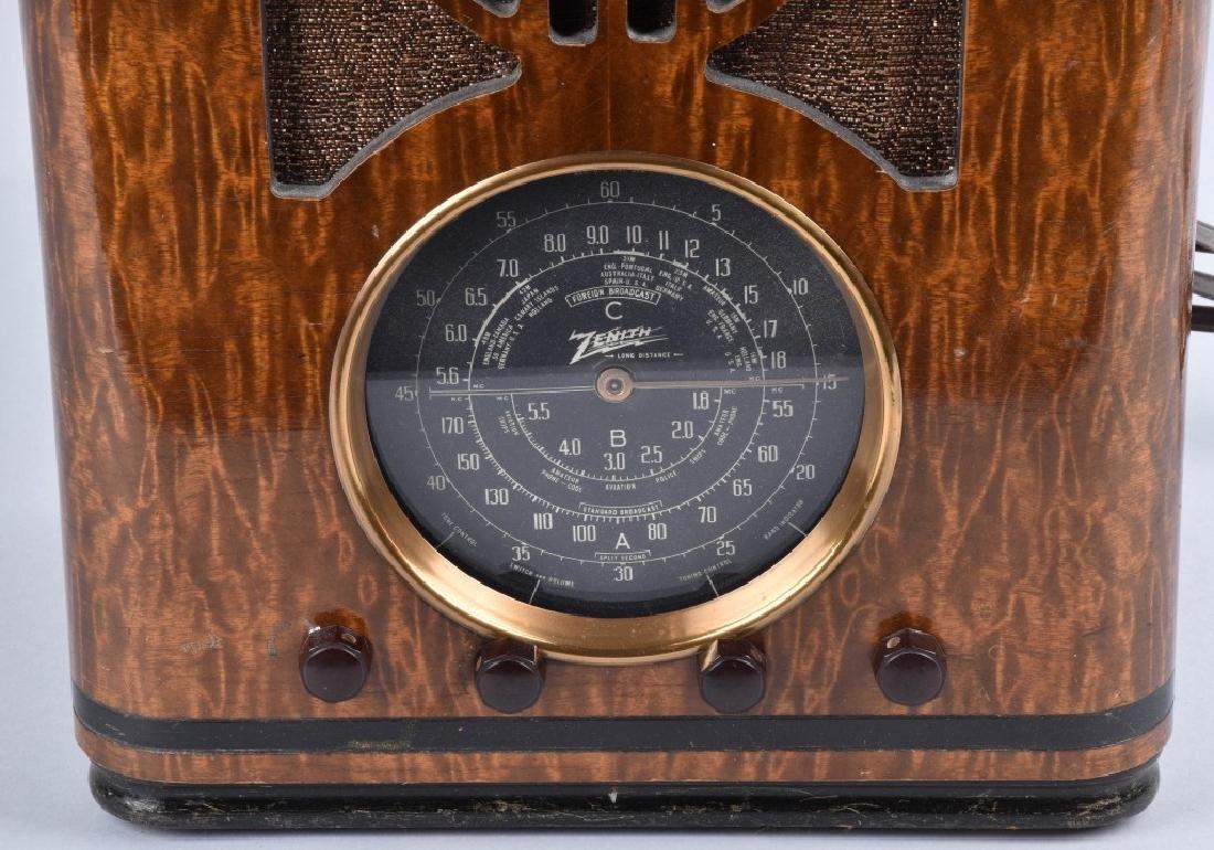 ZENITH 1939 MODEL 6-S-330 TOMBSTONE RADIO - 2