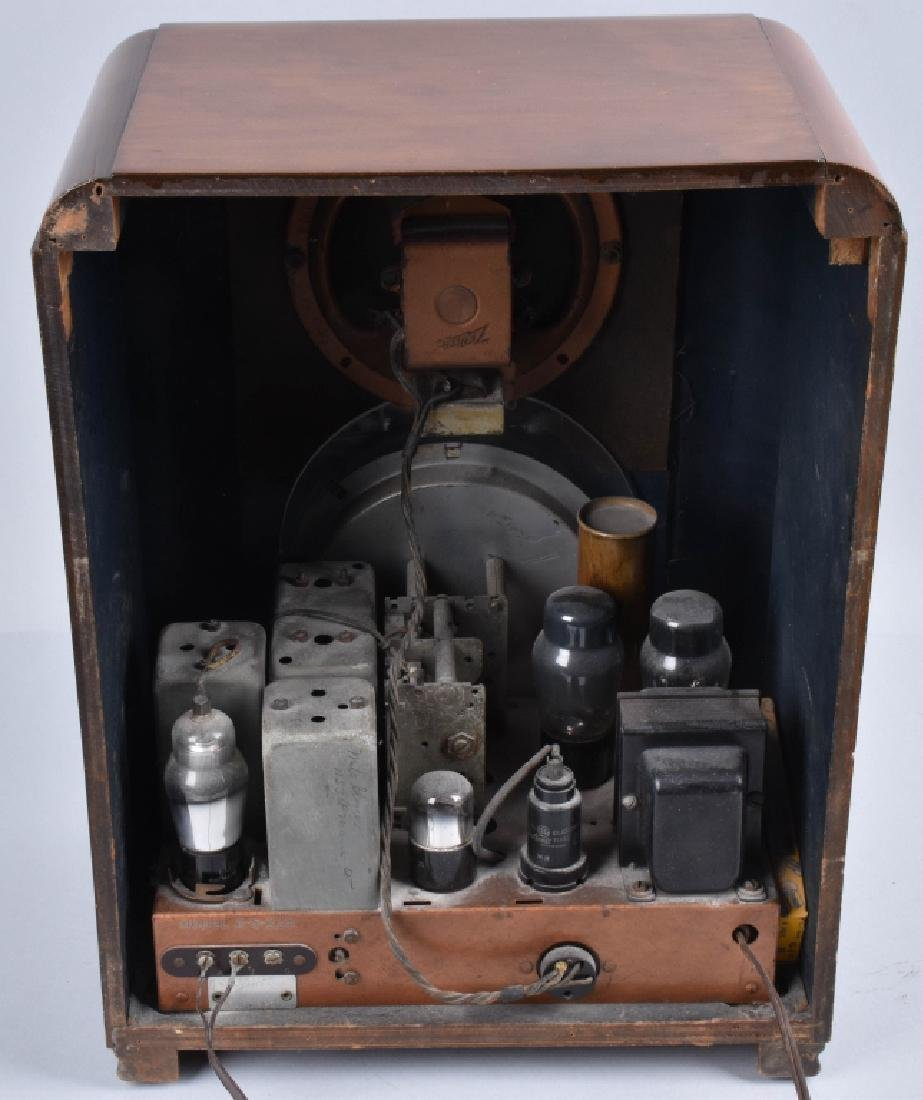 ZENITH 1939 MODEL 6-S-330 TOMBSTONE RADIO - 5