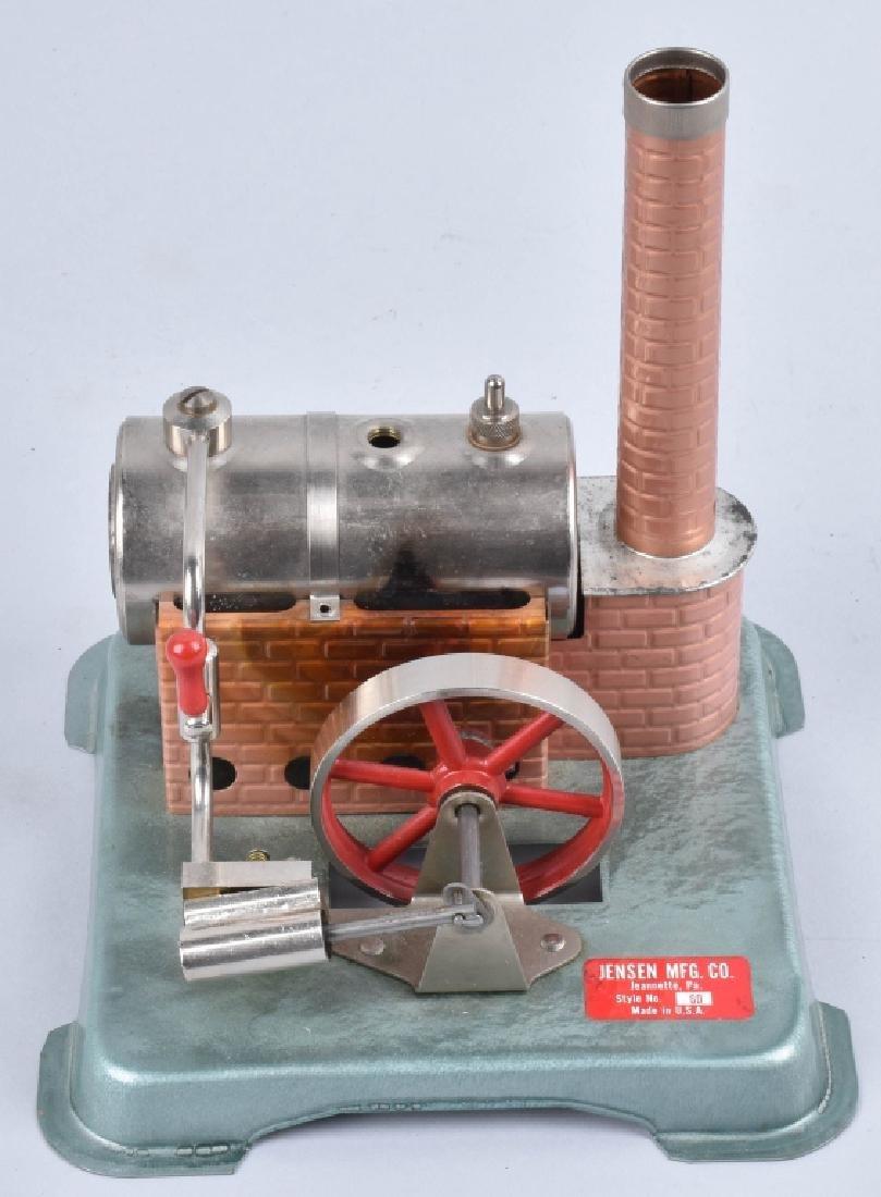 JENSEN TOY STEAM ENGINE, VINTAGE, BOXED - 2