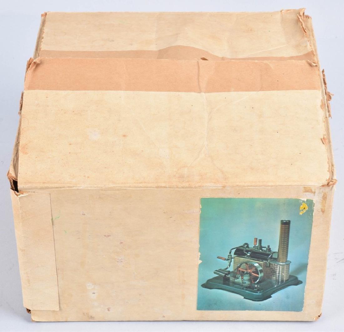 JENSEN TOY STEAM ENGINE, VINTAGE, BOXED - 5