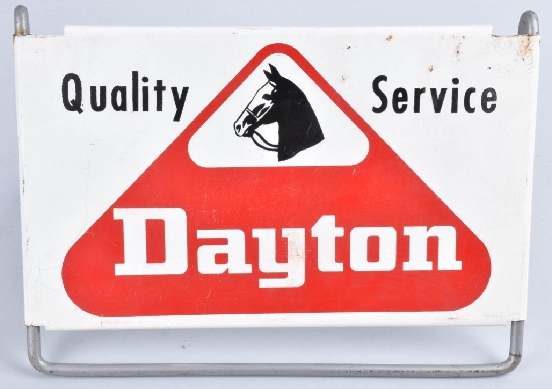 DAYTON TIRES TIN SIGN