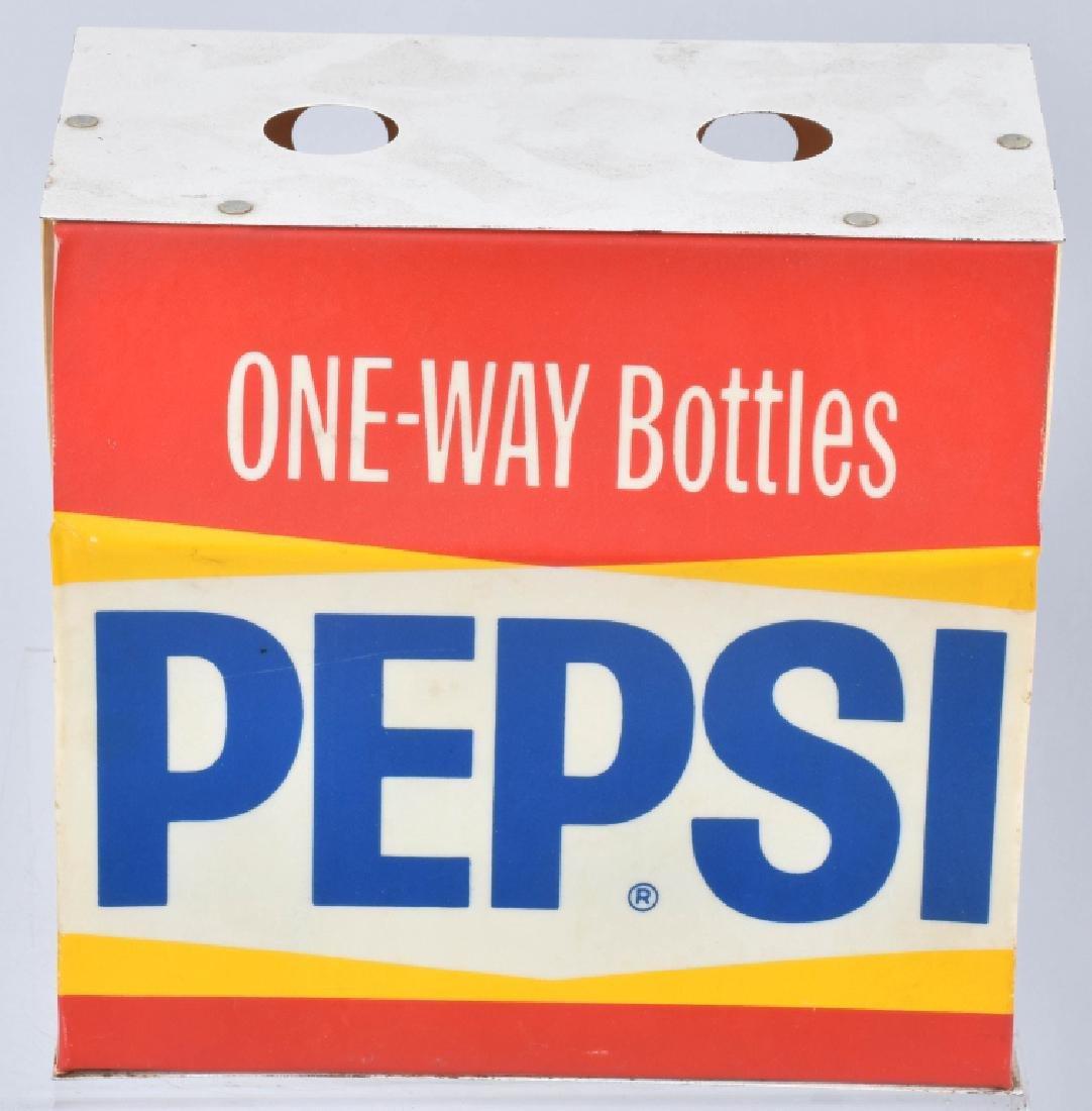 PEPSI ONE-WAY BOTTLES 6-PACK LIGHT, VINTAGE