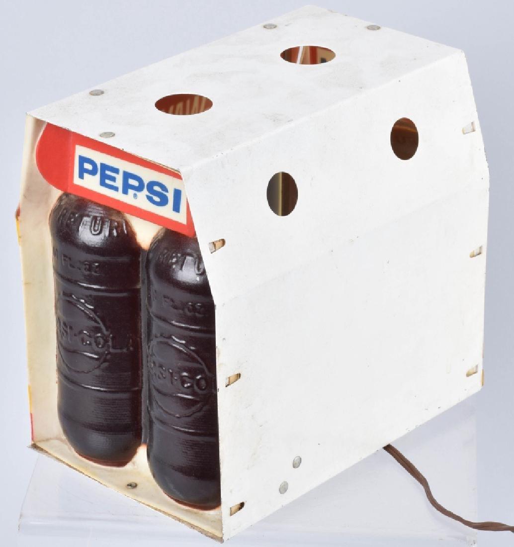 PEPSI ONE-WAY BOTTLES 6-PACK LIGHT, VINTAGE - 2