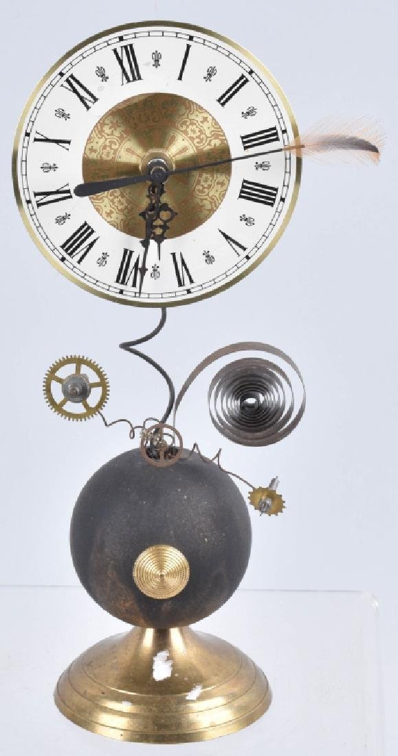ROGER WOOD WHIMSICAL CLOCK, SIGNED & NUMBERED
