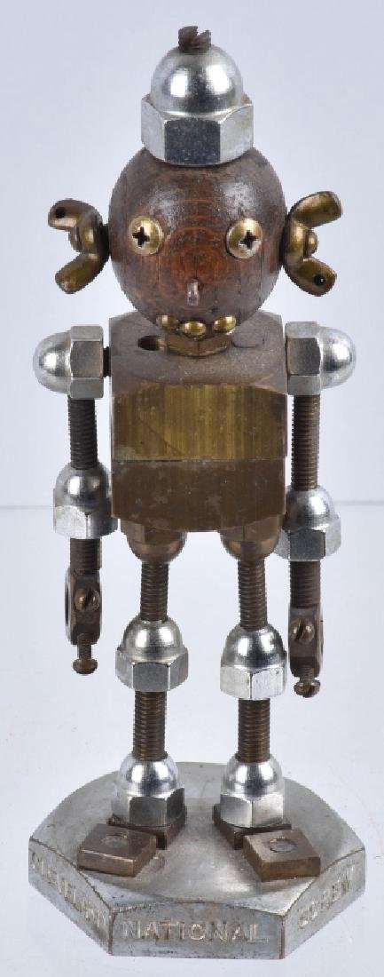 "NATIONAL SCREW ""NAT"" ROBOT DESK FIGURE"