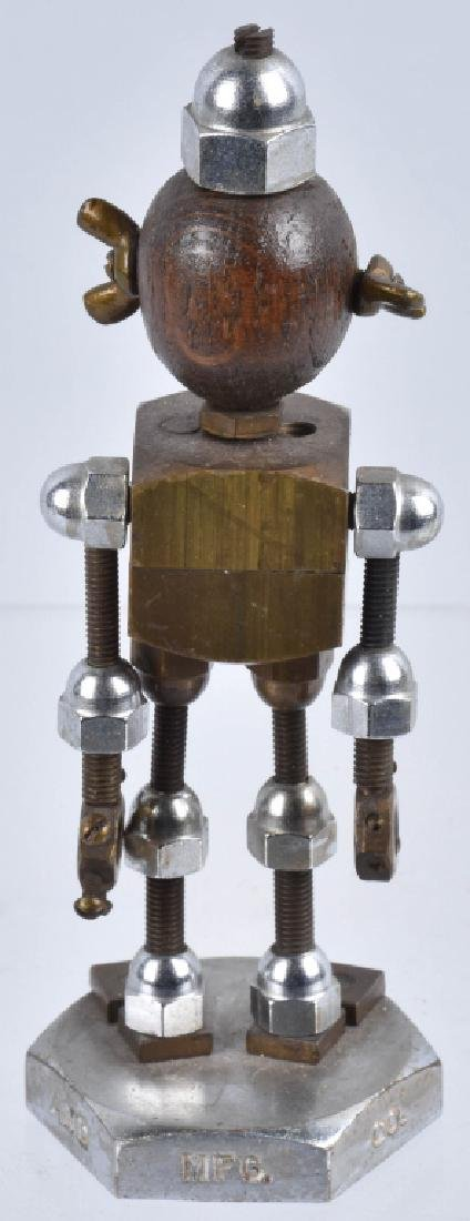 "NATIONAL SCREW ""NAT"" ROBOT DESK FIGURE - 7"