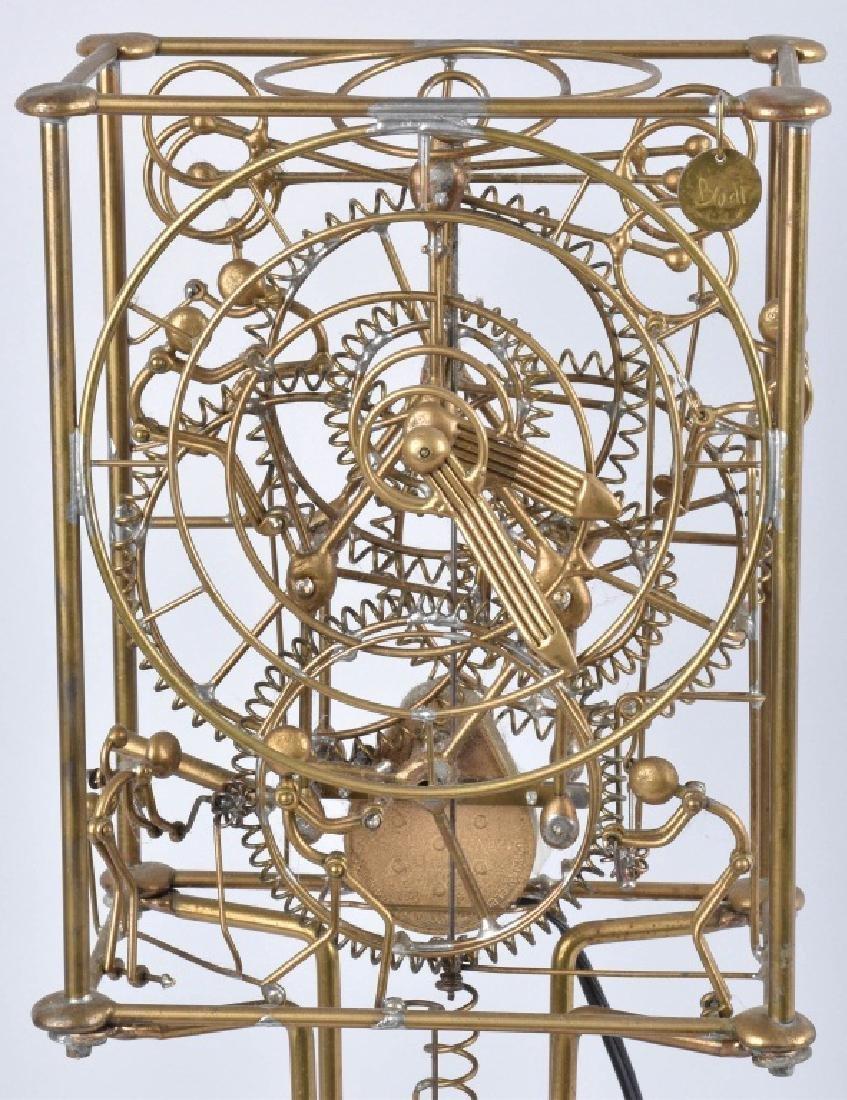 GORDON BRADT 7-MAN KINETIC CLOCK, KINETICO STUDIO - 2