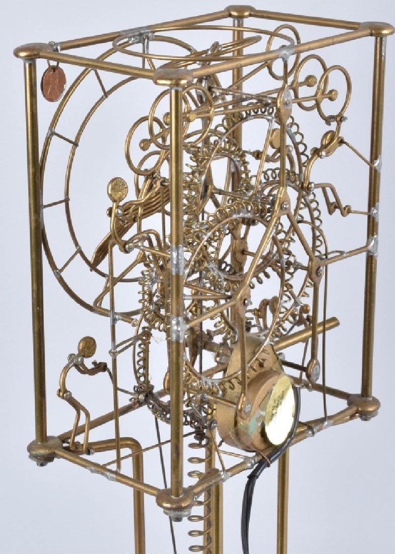 GORDON BRADT 7-MAN KINETIC CLOCK, KINETICO STUDIO - 4