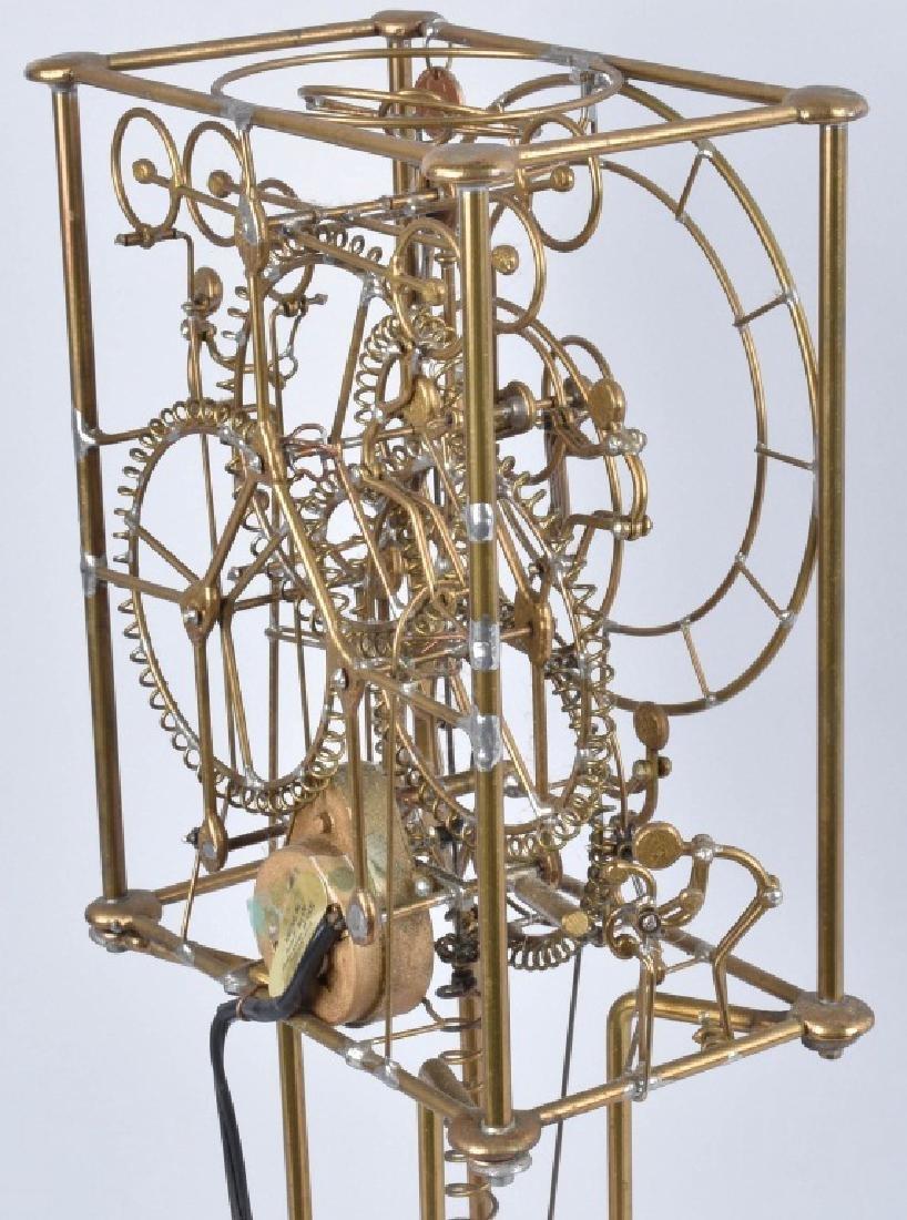 GORDON BRADT 7-MAN KINETIC CLOCK, KINETICO STUDIO - 5