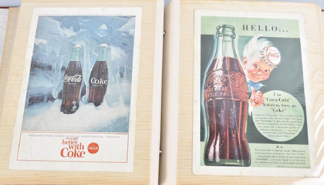 LARGE LOT of COCA COLA ADVERTISING & NATURE CARDS - 2