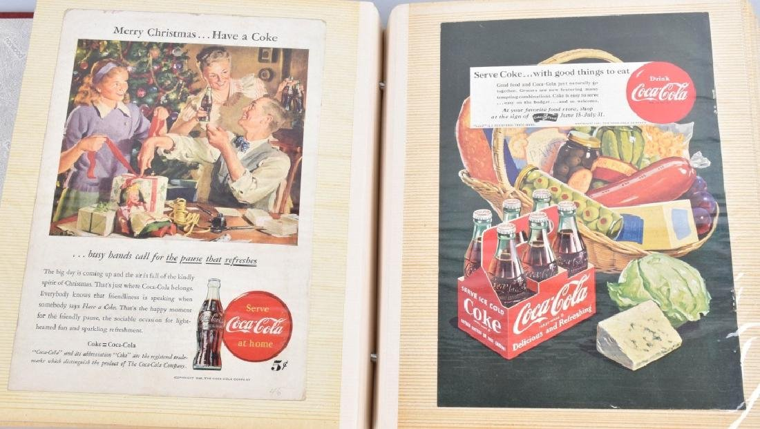 LARGE LOT of COCA COLA ADVERTISING & NATURE CARDS - 7
