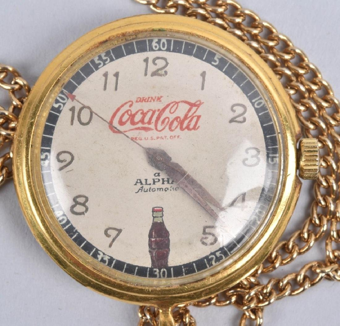 2- COCA COLA ALPHA AUTOMATIC WATCHES - 3