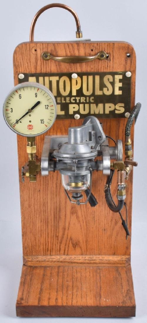 AUTO PULSE ELECTRIC FUEL PUMP DISPLAY