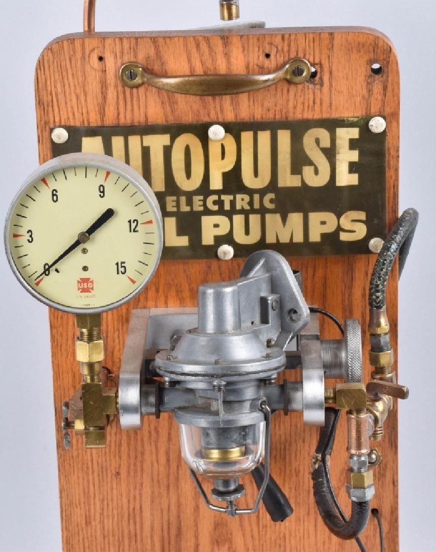 AUTO PULSE ELECTRIC FUEL PUMP DISPLAY - 2