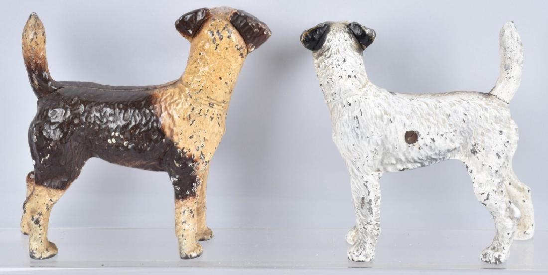3-CAST IRON TERRIER DOG DOORSTOPS - 5