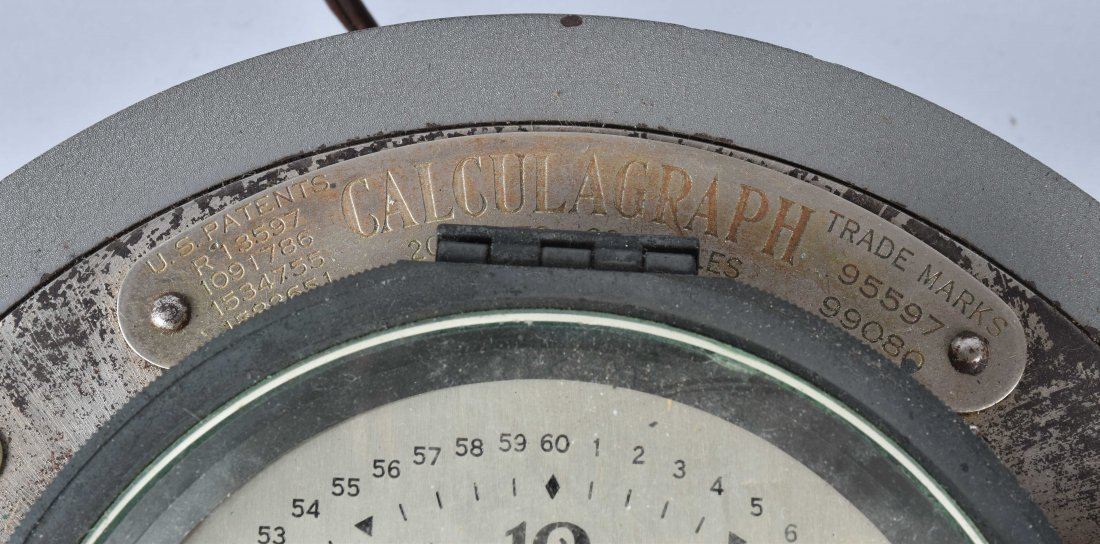 EARLY 1900s CALCULAGRAPH - 3