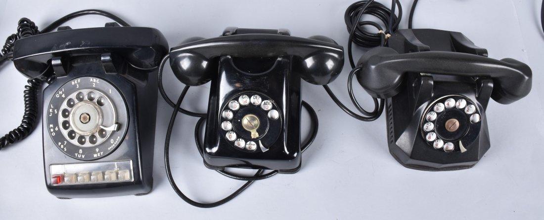 3- VINTAGE ART DECO TELEPHONES