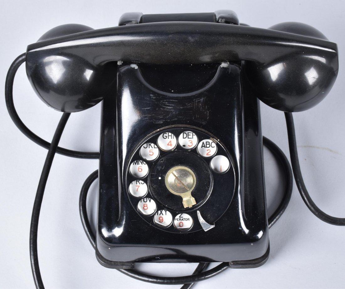 3- VINTAGE ART DECO TELEPHONES - 2