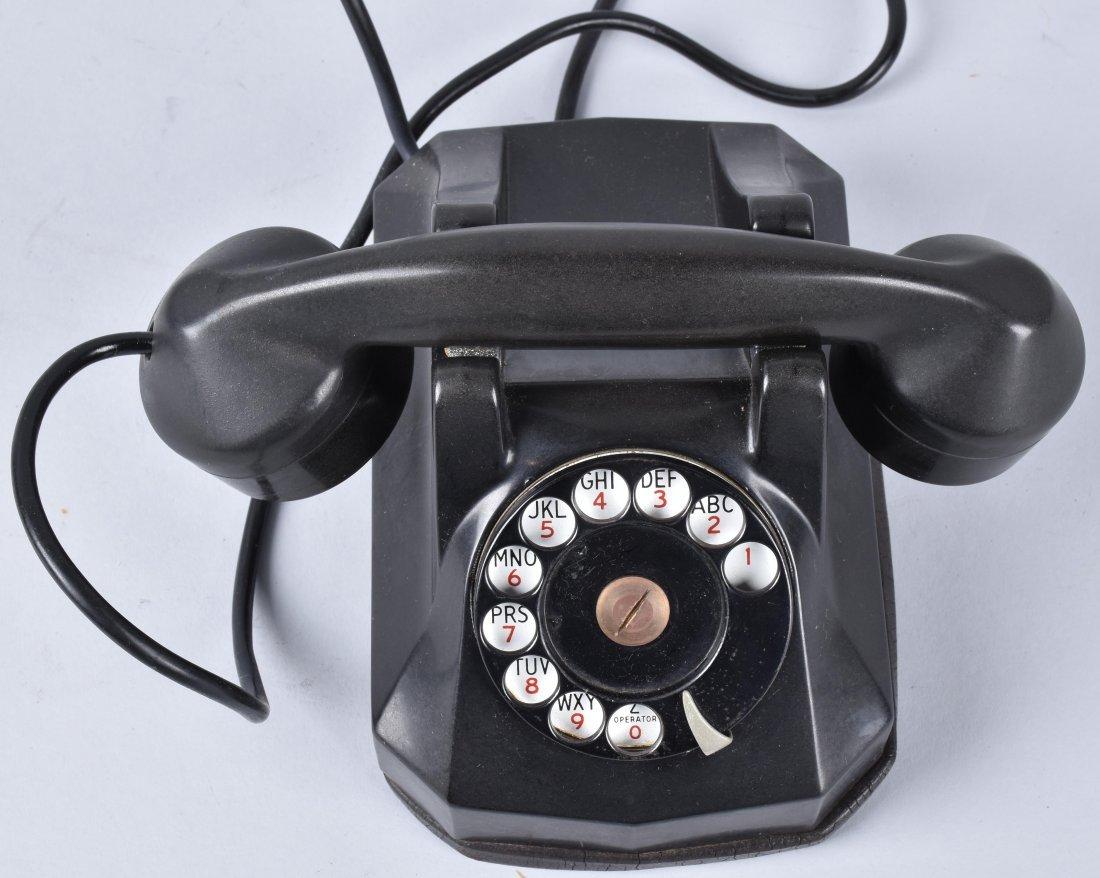 3- VINTAGE ART DECO TELEPHONES - 3