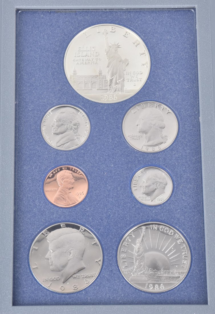 LOT OF US & FOREIGN SILVER PROOF SETS - 2