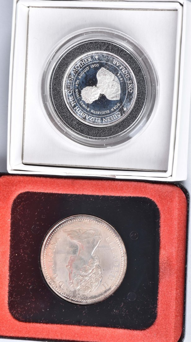 LOT OF US & FOREIGN SILVER PROOF SETS - 3